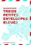 13 Treize petites enveloppes bleues